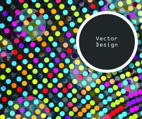 Set of abstract Mosaic vector backgrounds 03