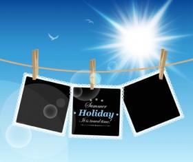 Summer holiday design Elements vector Set 03