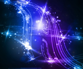 futuristic space Abstract background vector 02