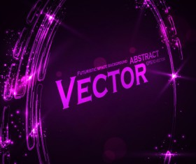 futuristic space Abstract background vector 03