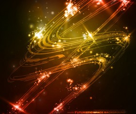 futuristic space Abstract background vector 04