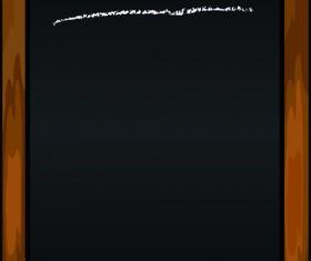black Menu vector background 03