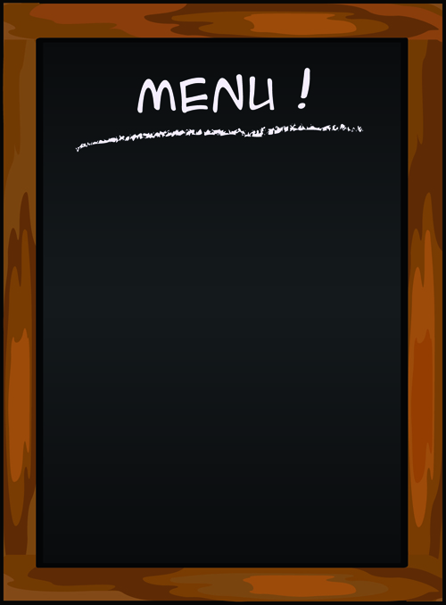 Black Menu Vector Background 03 Vector Background Free