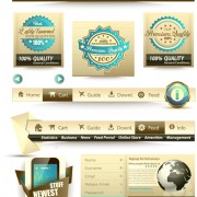 Link toFree vector web elements collection 01