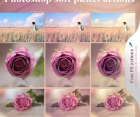 photoshop soft pastel actions
