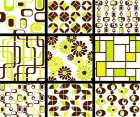 Set of seamless Pattern free vector 04
