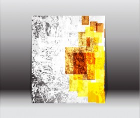 Abstract front cover design elements vector background 01