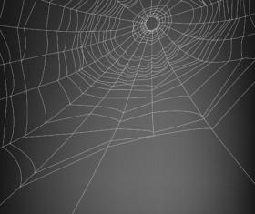 spiderweb design elements vector 04