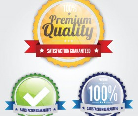 quality 100% labels vector 03