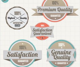 quality 100% labels vector 05