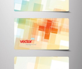 Creative cards background vector 02