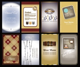 Elements of cards vector 01