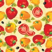 Link toVarious cartoon vegetable elements vector 05