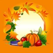 Link toSet of vegetable background vector 02