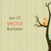 Link toFunny tree illustration vector 04