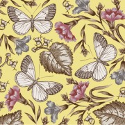 Link toElements of butterfly & flower vector 01