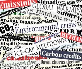 Newspaper headlines design elements vector 01