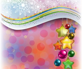 Merry Christmas design elements vector 01