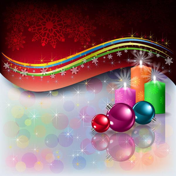 Merry Christmas design elements vector 03