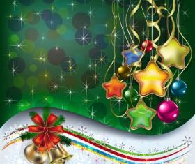 Merry Christmas design elements vector 04