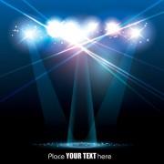 Link toSpotlight irradiate effect background vector 01