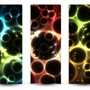 Link toAbstract starry sky vector banner 03