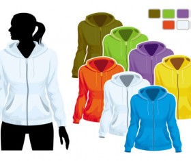 Mens and womens clothing design elements vector  02