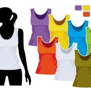 Link toMens and womens clothing design elements vector  05