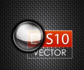 Set of glass frames vector background 02