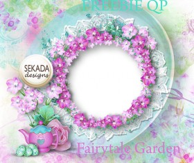 Wedding Photo frame png background 02