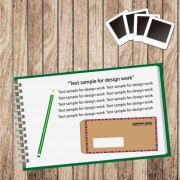 Link toSet of notepad design elements vector 01