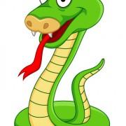 Link toElements of funny cartoon cobra vector 05