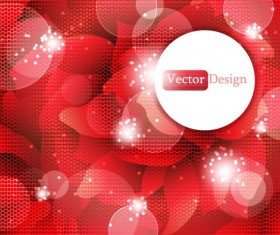 Set of Abstract Shiny vector background 03