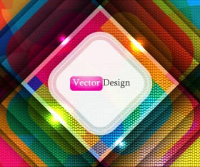 Set of Abstract Shiny vector background 05