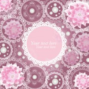 Link toSet of ornate floral background vector 02