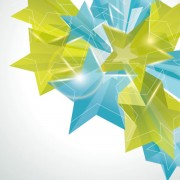 Link toCreative five pointed star vector background 01