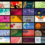 Link toSet of various cards collection vector 01