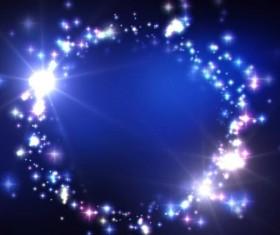 Set of Shiny Star PSD background