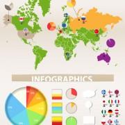 Link toSet of infographics design elements vector 02