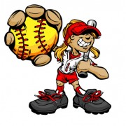 Link toFunny cartoon baseball player vector 05