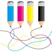Link toSet of rgb color elements vector 03