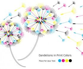 Set of RGB color elements vector 05