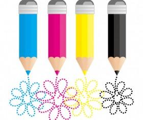 Set of RGB color elements vector 07
