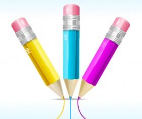 Set of RGB color elements vector 10