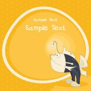 Link toCute cartoon small animal vector background 04