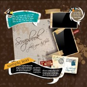 Link toVintage class mail vector set 03