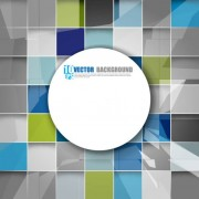 Link toSquare background vector set 04
