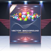 Link toDisplay board cover background vector 03