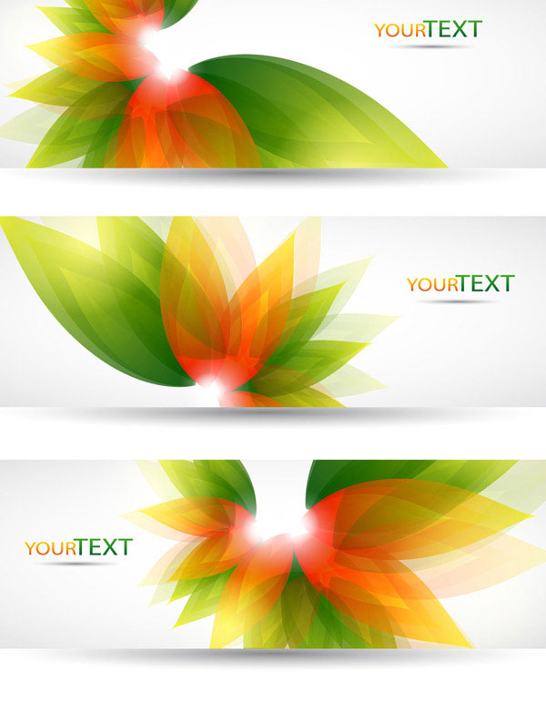 Colorful Halation banner vector 04 - Vector Banner free download