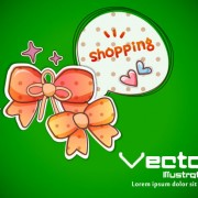 Link toSet of cartoon elements illustration vector 04